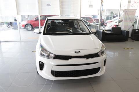 Kia Rio Sedan L usado (2020) color Blanco precio $209,000