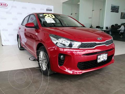 Kia Rio Sedan LX usado (2020) color Rojo precio $255,000
