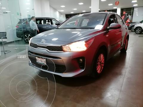 Kia Rio Sedan EX usado (2020) color Gris precio $278,000