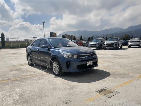 Kia Rio Sedan LX Aut usado (2020) color Azul precio $264,900