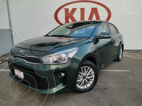 Kia Rio Sedan EX usado (2018) color Verde precio $225,000
