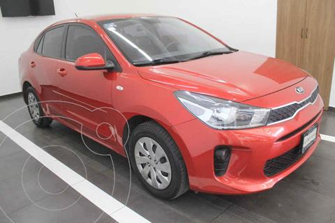 Kia Rio Sedan L Aut usado (2018) color Rojo precio $215,000