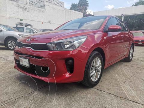 Kia Rio Sedan LX usado (2020) color Rojo precio $269,000