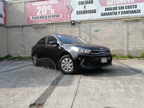 Kia Rio Sedan L usado (2020) color Negro precio $230,000