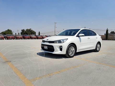 Kia Rio Sedan EX Aut usado (2018) color Blanco precio $235,900