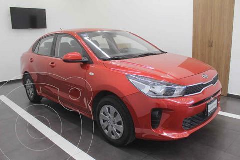 Kia Rio Sedan LX Aut usado (2020) color Rojo precio $295,000