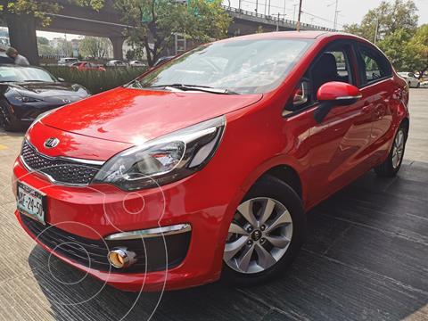 Kia Rio Sedan EX usado (2017) color Rojo precio $195,000