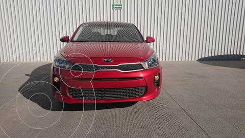 Kia Rio Sedan L usado (2020) color Rojo precio $229,000