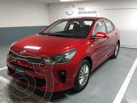 Kia Rio Sedan LX Aut usado (2020) color Rojo precio $249,000
