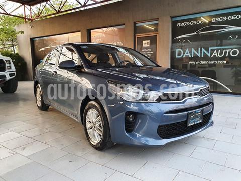 Kia Rio Sedan LX Aut usado (2019) color Azul precio $209,000