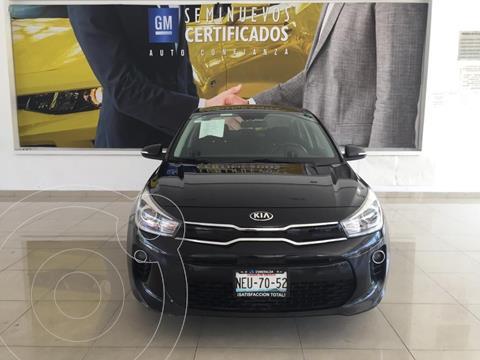 Kia Rio Sedan EX Aut usado (2018) color Negro precio $233,000