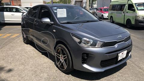 Kia Rio Sedan LX usado (2020) color Gris Urbano financiado en mensualidades(enganche $48,166 mensualidades desde $5,954)