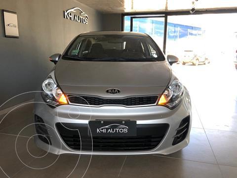 KIA Rio EX 4P usado (2017) color Plata precio u$s9.200