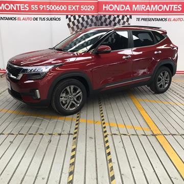 Kia Seltos SX  usado (2021) color Rojo precio $410,000