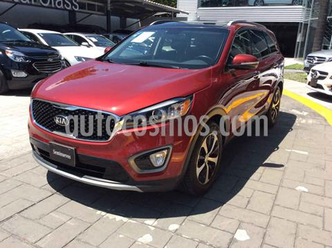 Kia Sorento 3.3L EX Pack Nav 7 Pas usado (2016) color Rojo precio $360,000