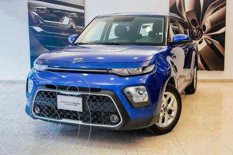 Kia Soul LX 5P 121HP L4 1.6L ABS BA AC R16 STD usado (2020) color Azul precio $269,000