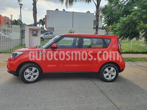 Kia Soul EX Aut usado (2019) color Rojo precio $237,000