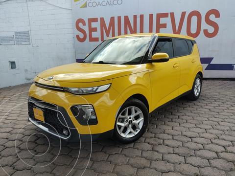 Kia Soul LX usado (2020) color Amarillo precio $280,000