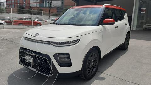 Kia Soul EX Aut  usado (2021) color Blanco Nieve precio $370,000