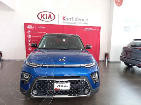 Kia Soul EX Aut usado (2020) color Azul precio $349,000