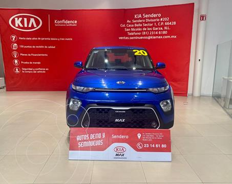 Kia Soul LX usado (2020) color Azul precio $268,000
