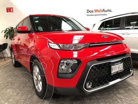 Kia Soul LX usado (2020) color Rojo Infierno precio $299,000