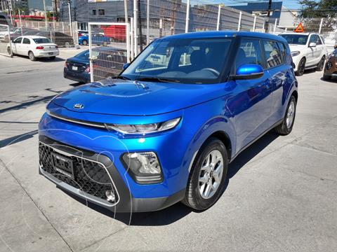 Kia Soul LX  usado (2021) color Azul precio $295,000