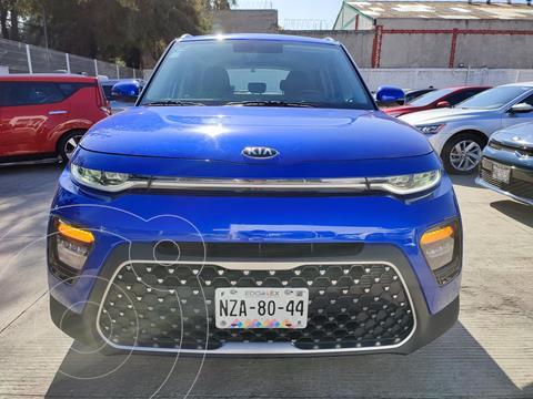Kia Soul EX Pack Aut usado (2020) color Azul precio $385,000