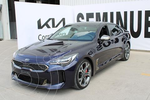 Kia Stinger 3.3L GT  usado (2020) color Azul precio $800,000