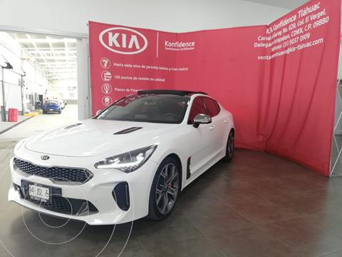 Kia Stinger 3.3L GT  usado (2018) color Blanco precio $510,000
