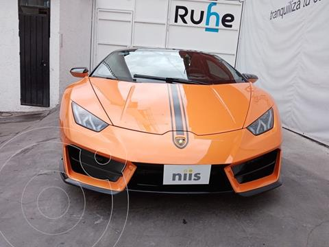 Lamborghini Huracan LP 640-4 Performante usado (2017) color Naranja precio $5,700,000