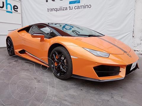 Lamborghini Huracan LP 580-2 usado (2017) color Naranja precio $5,700,000