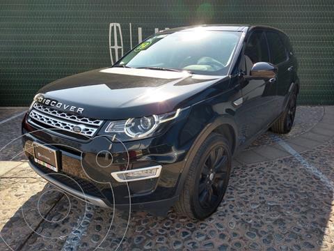 Land Rover Discovery Sport HSE Luxury usado (2019) color Negro Santorini financiado en mensualidades(enganche $212,500)