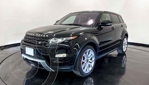 Land Rover Range Rover Evoque Version usado (2013) color Negro precio $367,999