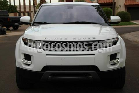 Land Rover Range Rover Evoque Pure Plus usado (2013) color Blanco precio $250,000