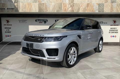 Land Rover Range Rover Sport HSE 5.0 Dynamic usado (2020) color Plata Dorado precio $1,865,000