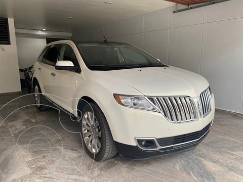 Lincoln MKX 3.7L 4x4 usado (2013) color Blanco precio $200,000