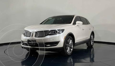 Lincoln MKX 3.5L 4x4  usado (2016) color Blanco precio $404,999