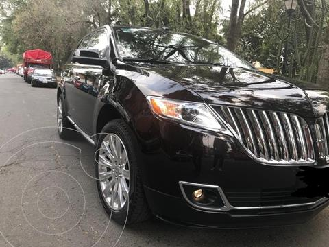 Lincoln MKX 3.7L 4x4 usado (2013) color Negro precio $255,000