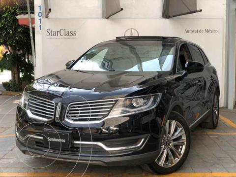 Lincoln MKX 3.5L 4x4  usado (2016) color Negro precio $415,000