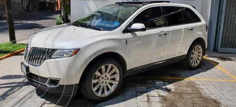 Lincoln MKX 3.7L 4x2 Navegacion usado (2013) color Blanco Platinado precio $235,000