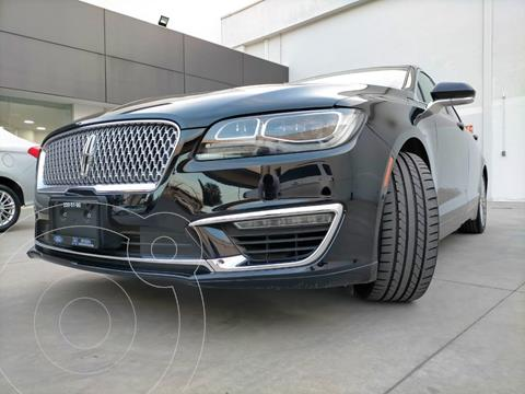 Lincoln MKZ Reserve usado (2017) color Negro financiado en mensualidades(enganche $432,000)