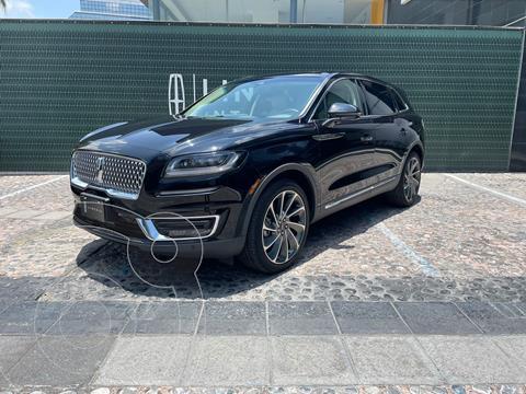 Lincoln Nautilus 2.7L Reserve AWD usado (2020) color Negro precio $1,050,000