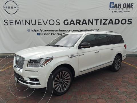 Lincoln Navigator Reserve Larga usado (2019) color Blanco precio $1,295,000