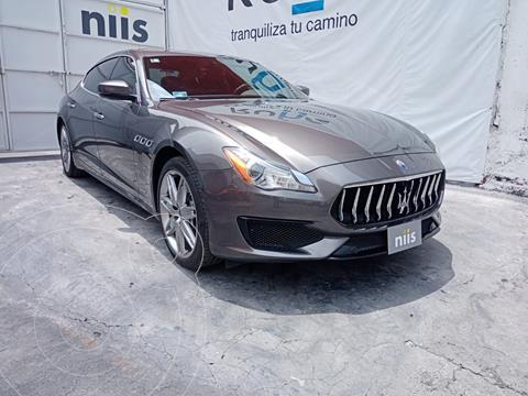 Maserati Quattroporte S Q4 usado (2017) color Gris Oscuro precio $2,400,000