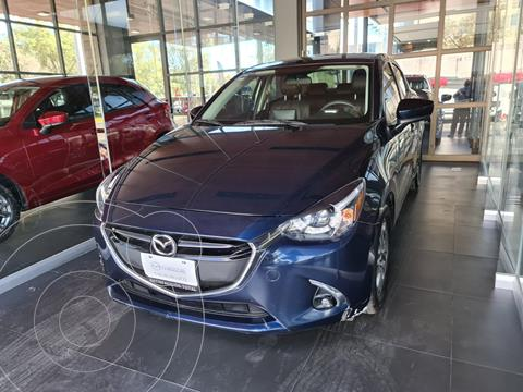 Mazda 2 Sedan i Grand Touring Aut usado (2019) color Azul Marino precio $275,000