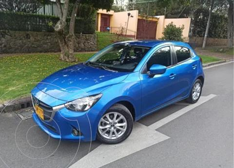 Mazda 2 Touring Aut usado (2016) color Azul precio $47.500.000
