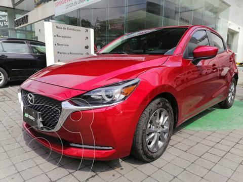 Mazda 2 i Touring Aut usado (2021) color Rojo precio $309,000