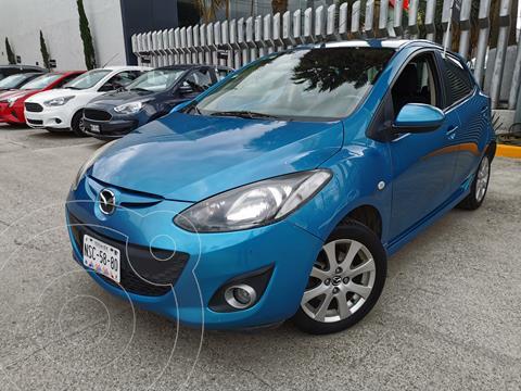 Mazda 2 Touring usado (2014) color Azul Isla Bella precio $145,000