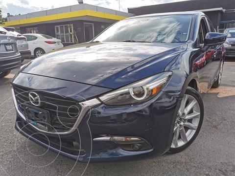 Mazda 3 Hatchback s Grand Touring  usado (2018) color Azul Marino precio $300,000